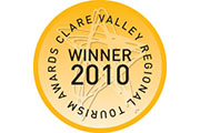Clare Valley Tourism Awards 2010 – Winner